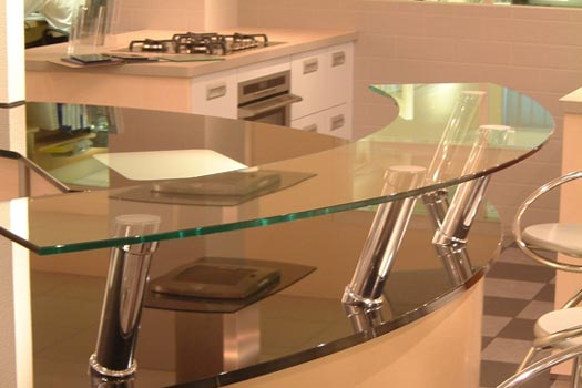Glass splashback specialists kitchen work surfaces for B kitchen glass grill